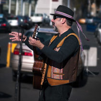 The Busker by photography-by-odille