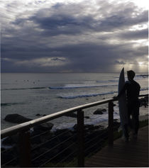 The Lone Surfer von photography-by-odille