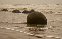 The Sands of Time, Moeraki Boulders #2 von photography-by-odille