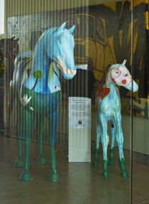 Blue - Art Horses #3 von photography-by-odille