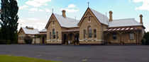 Tenterfield Railway Station, NSW, Australia by photography-by-odille