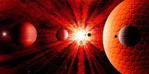 Red solar System. von Bernd Vagt