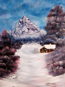 Winter Idylle von Eva Borowski