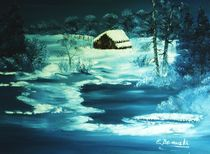 Winterlandschaft by Eva Borowski