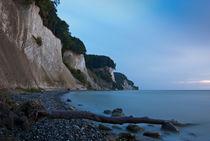 Rügens Kalkküste – blau am frühen Morgen von Thomas Mertens