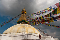 Bodnath – Stupa by Thomas Mertens