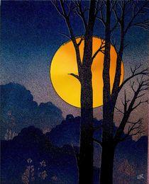 Wald und Mond von wokli