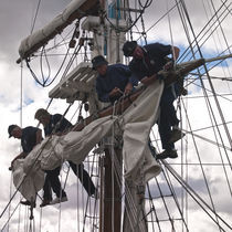 Foresail replacement - Lady Nelson
