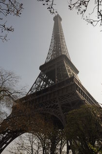 La tour Eiffel von Andrada Mihailescu