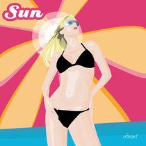 Sun girl model by Laura Gargiulo