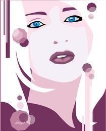 Madonna portrait by Laura Gargiulo