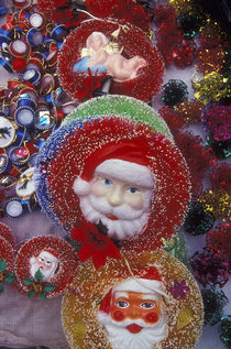 Mexican Santa Clauses by John Mitchell