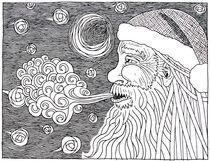 Santas-starrynight