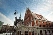 Riga, Town Hall Square 2 by Andrej IVANOFF