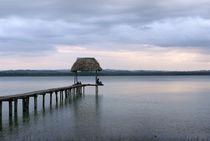 Lake Peten Itza Guatemala by John Mitchell