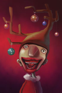 Christmas Guy by Nicoletta  Pagano
