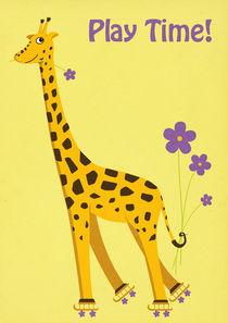 Funny Giraffe von Boriana Giormova