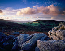 Sunset over Dartmoor von Craig Joiner