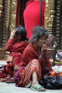 Market Women in Nepal by David Robinson