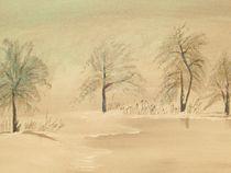 Winterstille von Eva Borowski
