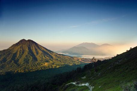 Ijen-mountain