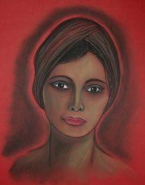 """Pastellbild """"Anmut"""" Portrait von Anke Franikowski"""