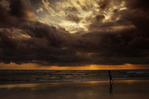 Sunset at Kuta beach by Alexey Galyzin