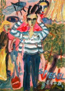 Into the mirror by Gabriella  Cleuren