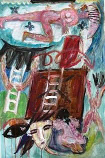 The ladder, that was taken away by Gabriella  Cleuren