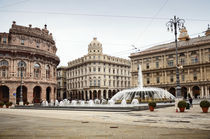 De Ferrari square in Genoa, Italy  by Tanja Krstevska