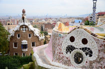 Park Guell in Barcelona, Spain von tkdesign