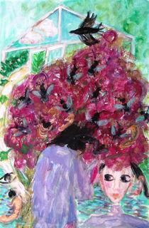 Honeybee tree by Gabriella  Cleuren