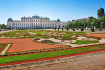 Belvedere palace in Vienna  by Tanja Krstevska