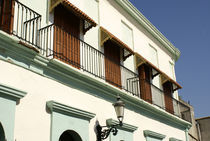 COLONIAL FACADE Mazatlan Mexico by John Mitchell
