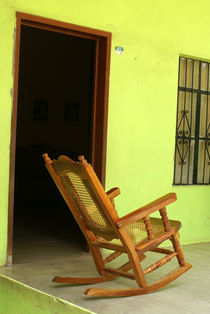 ROCKING CHAIR Mexico by John Mitchell
