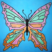 butter-fly by green0pencil