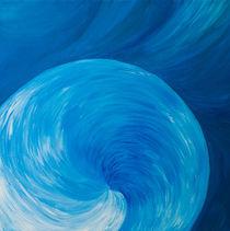 blue shell / Blaue Muschel  von picadoro