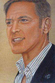 George Clooney by pjb-art