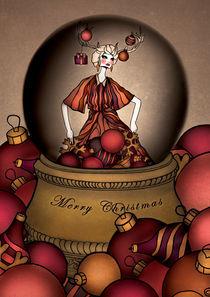 Dollhouse Christmas Card von annabours