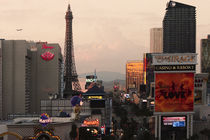 Sundown on Las Vegas Boulevard by Eye in Hand Gallery