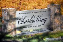 Charles Krug Vineyard  by Brian  Leng
