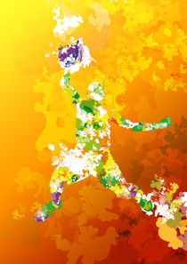 Colorful - Sports, Basketball von roguedesign