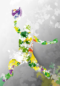 Colorful - Sports, Basketball