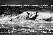 Plam-beach-surfers-sunlight