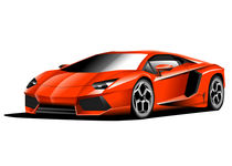 Aventador vector illustration by Nikola Novak