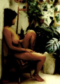 Resting by Giora Eshkol