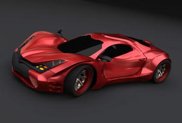 Redstone-racing-car