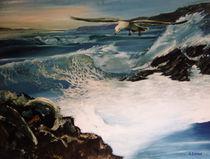 Seagulls by Giora Eshkol