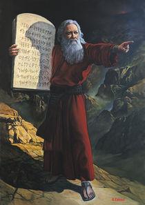Moses by Giora Eshkol