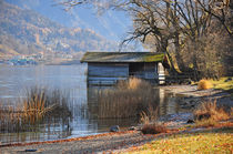 Bootshaus am Tegernsee by Frank Rother
